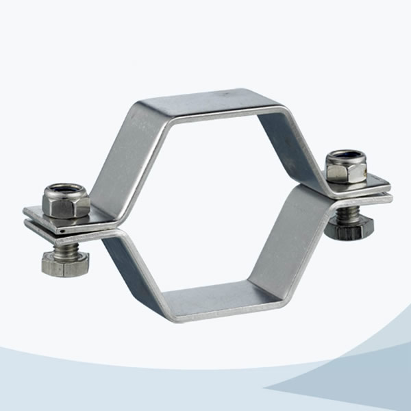 stainless steel pipe support