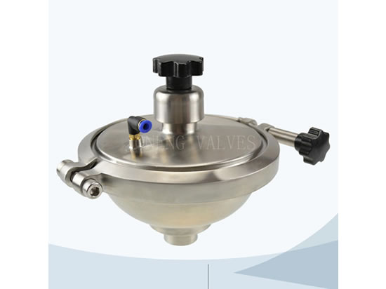Our new design of sanitary CPM valve