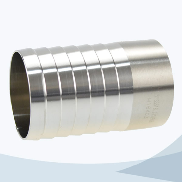 stainless steel hose barb